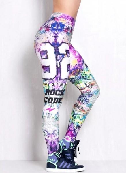 Леггинсы женские Rock Code Legging Elastic Blur