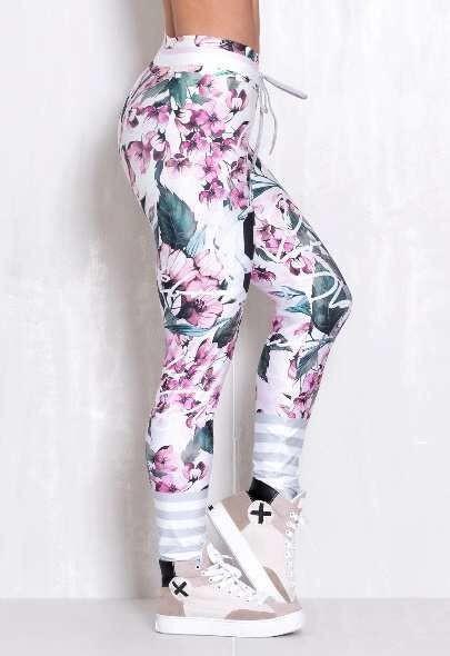 Лосины женские Rock Code Legging Elastic Soft Flowers