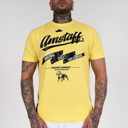 Мужская тренировочная футболка Amstaff Yarrow Yellow