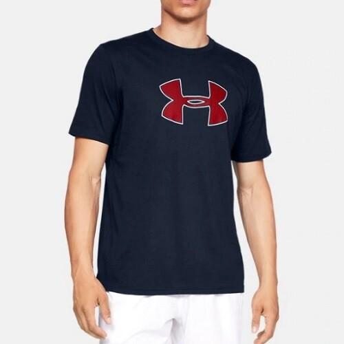 Мужская спортивная футболка Under Armour UA BIG LOGO SS Blue