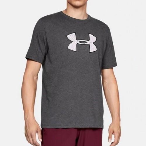 Мужская спортивная футболка Under Armour UA BIG LOGO SS Gray