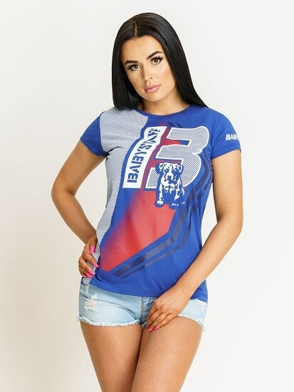 Женская спортивная футболка Amstaff Babystaff Briks