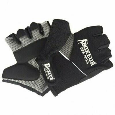 Перчатки атлетические Boxeur Black