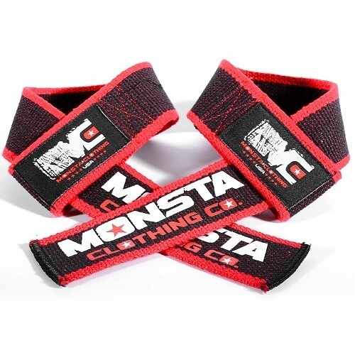 Лямки для тяги Monsta Pro Workout Lifting Straps