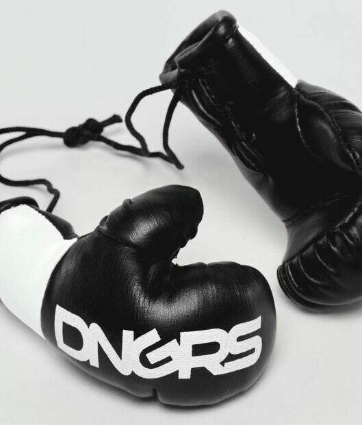 Перчатки боксерские сувенирные Amstaff Dangerous