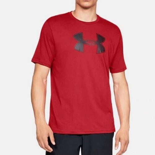 Мужская спортивная футболка Under Armour UA BIG LOGO SS Red