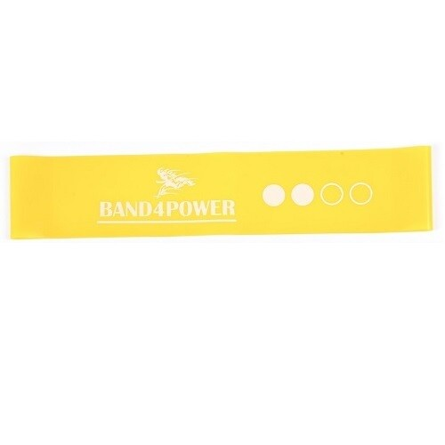 Резиновая петля мини Band4Power, желтая