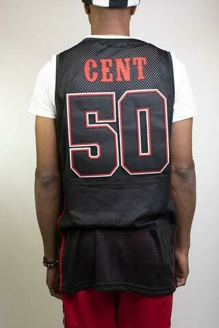 Джерси Get Rich Or Die Trying Basketball Jersey 50CENT
