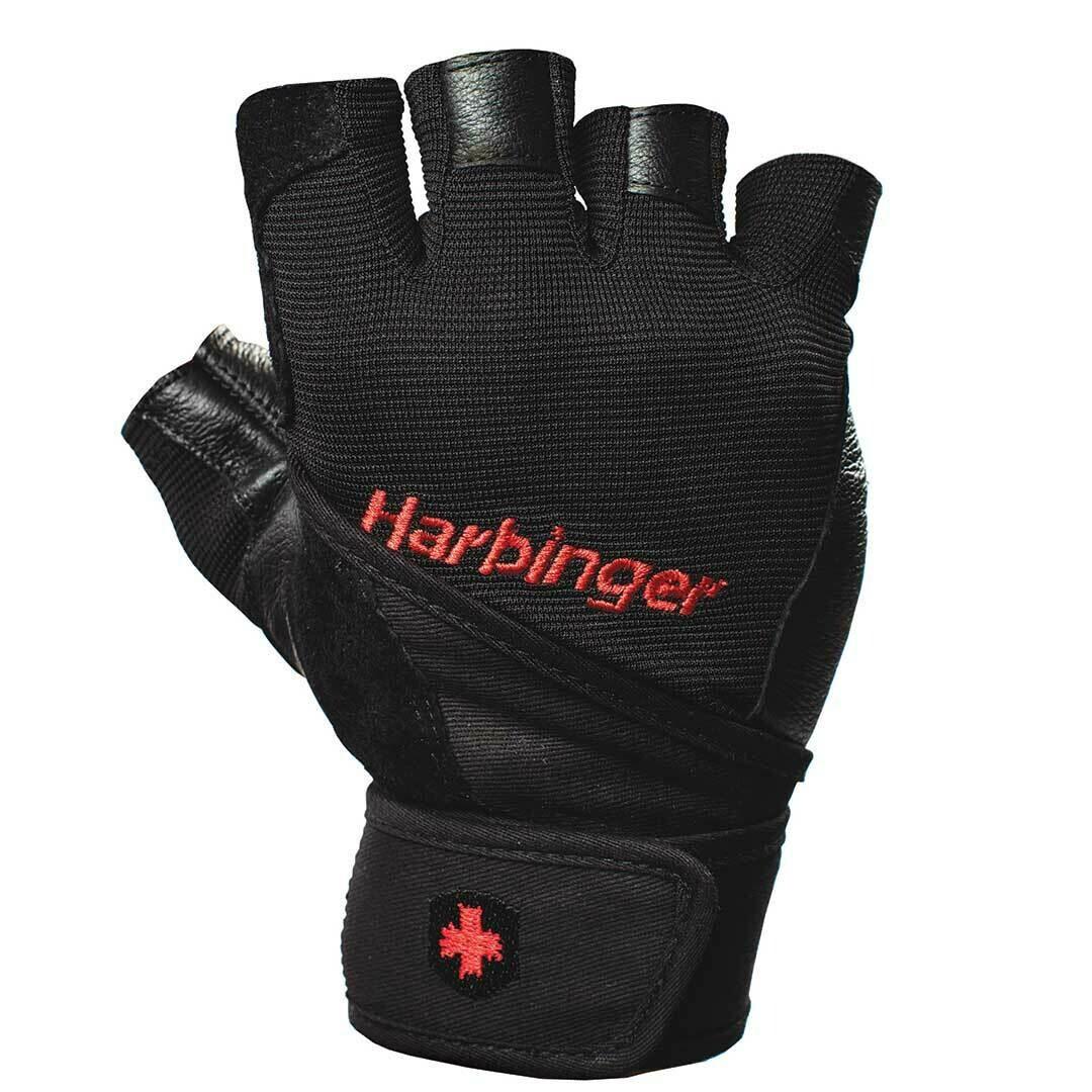 Перчатки Pro Wrist Wrap Gloves HARBINGER