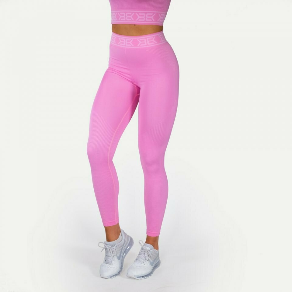 Лосины Rib Seamless Legging Bubblegum Pink Better Bodies