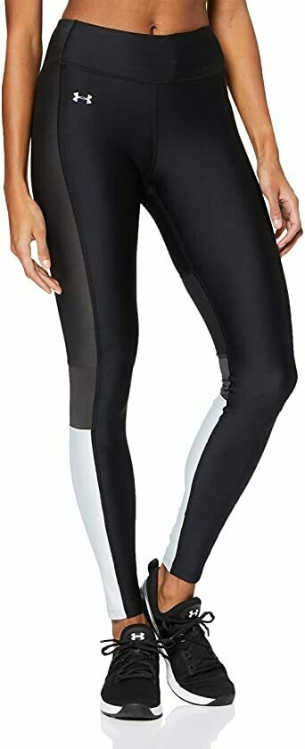 Леггинсы HeatGear Perforation Inset Graphic Leggings Under Armour