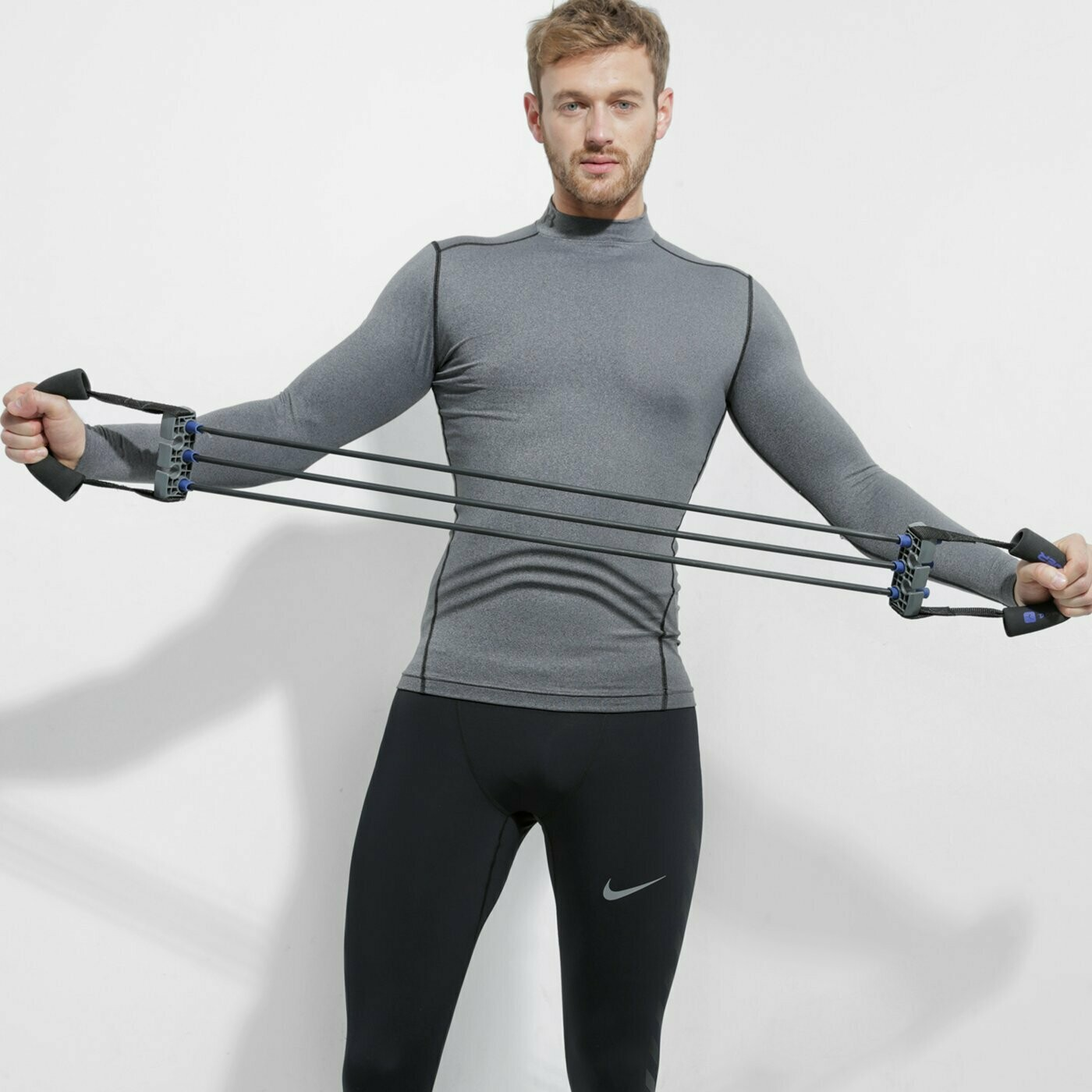 Рашгард ColdGear® Armour Compression Mock Grey Under Armour
