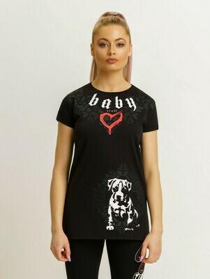 Женская спортивная футболка Amstaff Babystaff Giwa
