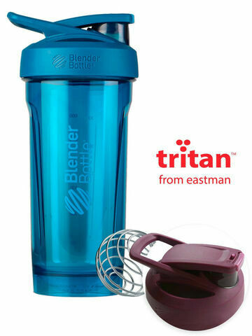 Шейкер Strada Tritan™ Full Color 828мл Ocean blue BLENDERBOTTLE