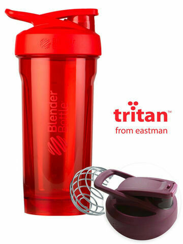 Шейкер Strada Tritan™ Full Color 828мл Red BLENDERBOTTLE