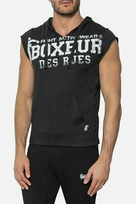 Спортивная мужская безрукавка Boxeur BIG PRINT SWEAT BLACK