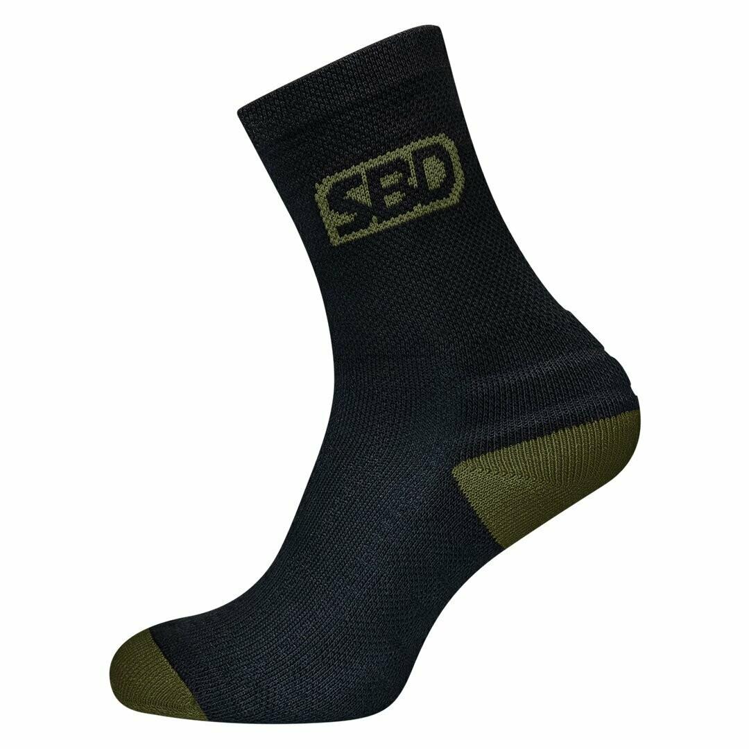 Sport Sock Endure Black спортивные носки SBD (лимитированная серия)