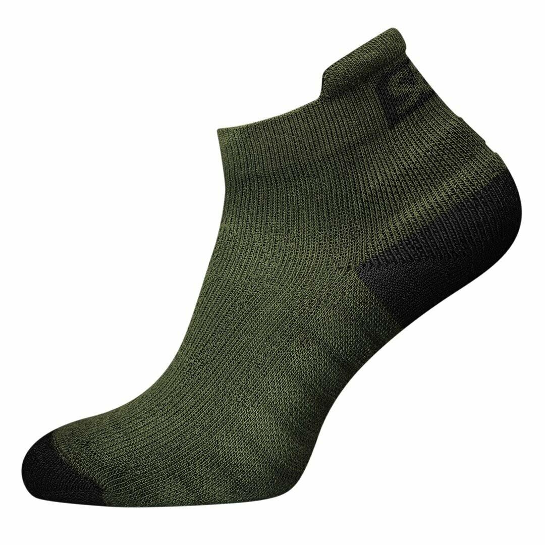 Trainer Socks Endure Green короткие спортивные носки SBD (лимитированная серия)