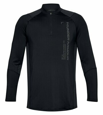 Лонгслив спортивный  MK1 Graphic 1/4 Zip Black Under Armour