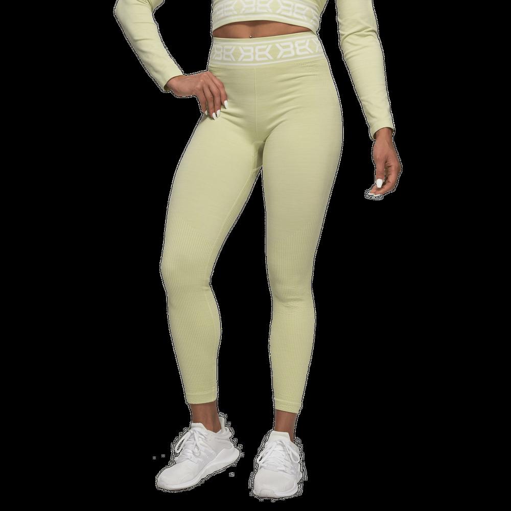 Леггинсы Rib Seamless Legging Mellow Green  Better Bodies