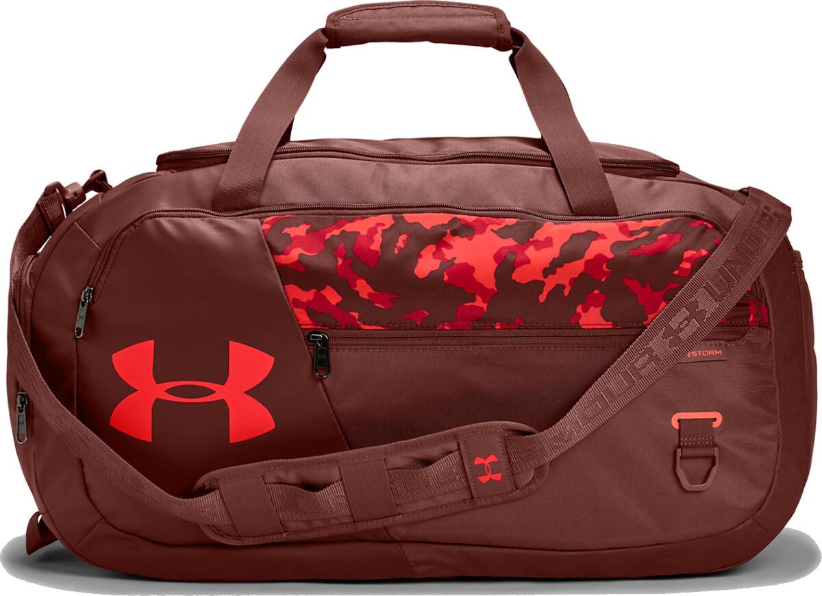 Сумка спортивная Undeniable Duffel 4.0 Medium Duffle Bag Red Camo Under Armour