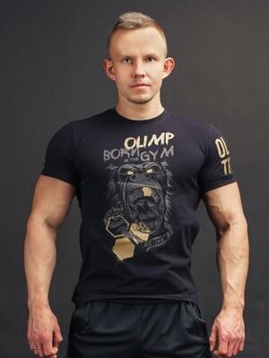 Футболка WILD BLACK&GOLD Olimp