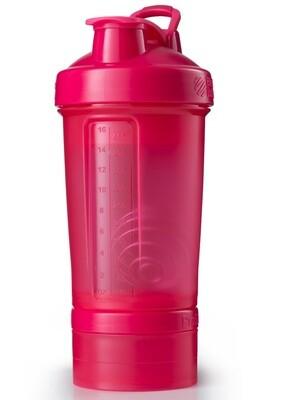 Шейкер ProStak 624мл+100мл+150мл Full Color Pink  BLENDERBOTTLE®