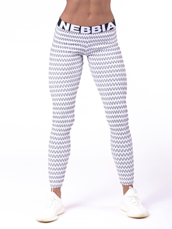 Леггинсы boho style leggings 3D pattern grey Nebbia