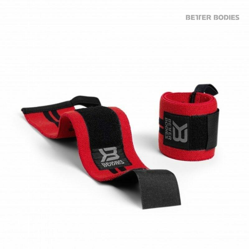 Кистевые бинты Wrist Wrap 18 Bright Red Better Bodies