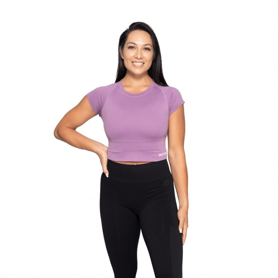 Топ Astoria seamless tee Strong purple Better Bodies