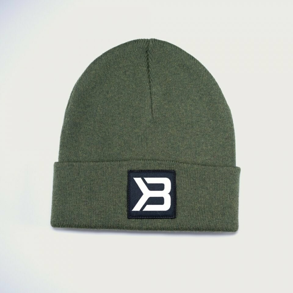 Шапка Tribeca Beanie, Washed Green Better Bodies