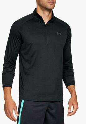 Рашгард Tech 2.0 1/2 Zip Black Under Armour