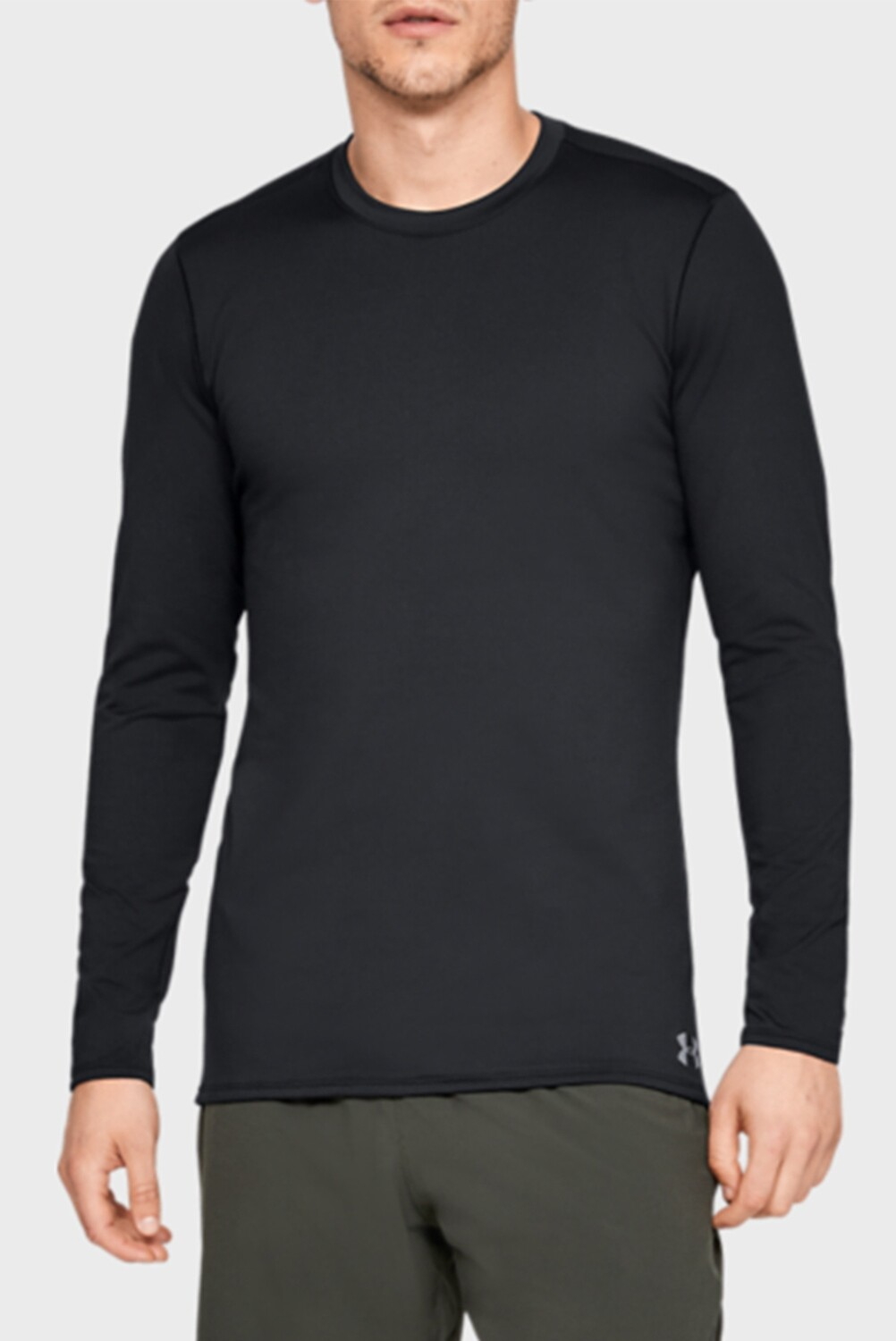 Рашгард ColdGear Fitted Crew Black Under Armour