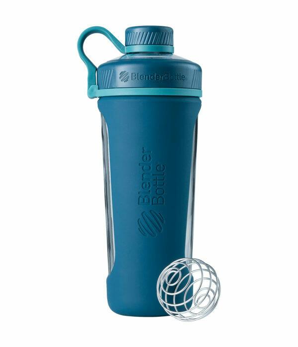Шейкер и бутылка для воды термозащищенная RADIAN INSULATED STAINLESS 769мл Matte Blue BLENDERBOTTLE