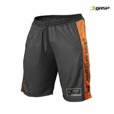 Шорты Спортивные №1 Mesh Shorts Black/White Gasp