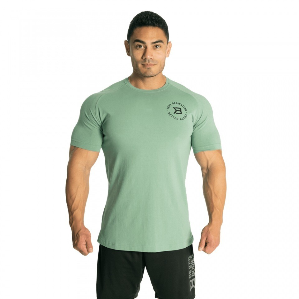 Футболка Gym Tapered Tee Teal Green Better Bodies