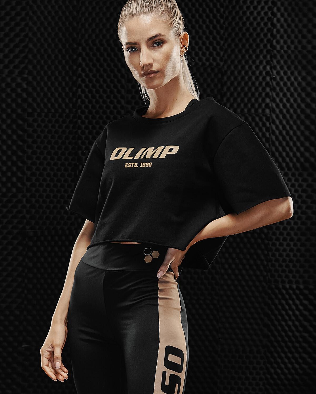 Футболка укороченная Crop Top Gold Series Olimp