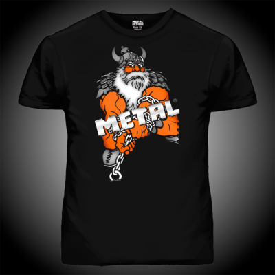 Футболка Viking Power T-shirt Black METAL
