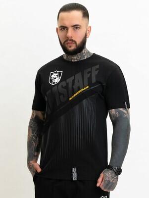 Футболка Santos T-Shirt Black Amstaff