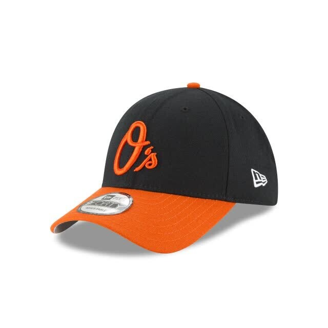 Кепка Baltimore Orioles THE LEAGUE Black/Flame New Era