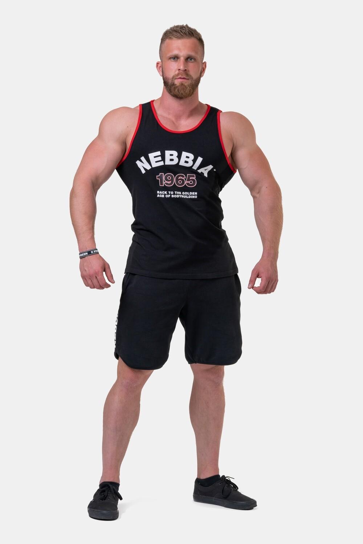 Майка Nebbia Old-school Muscle tank top 193 black