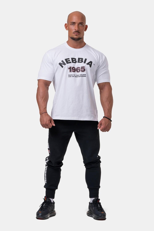 Брюки джоггеры Nebbia Golden Era sweatpants 196 Black