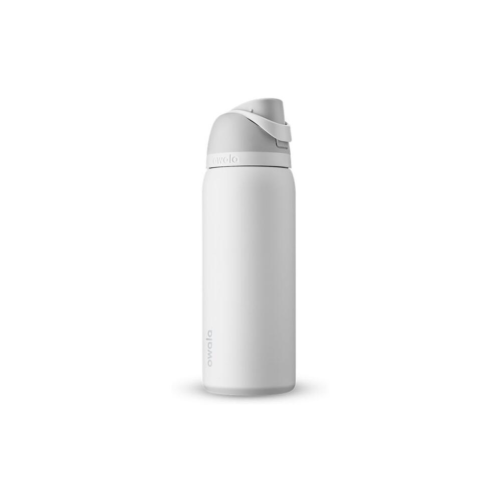 Бутылочка для воды c закрытым горлышком FreeSip Stainless Steel 24oz, 946 мл Marshmallow OWALA