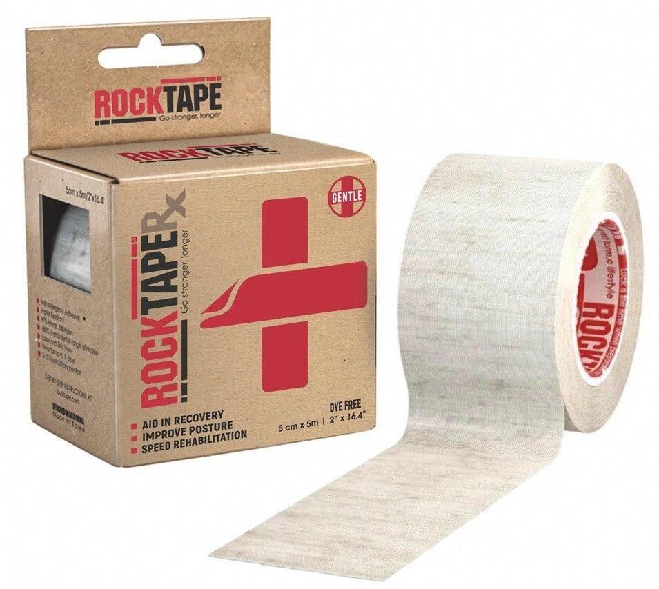 Кинезиотейп 5смx5м Cotton RockTape
