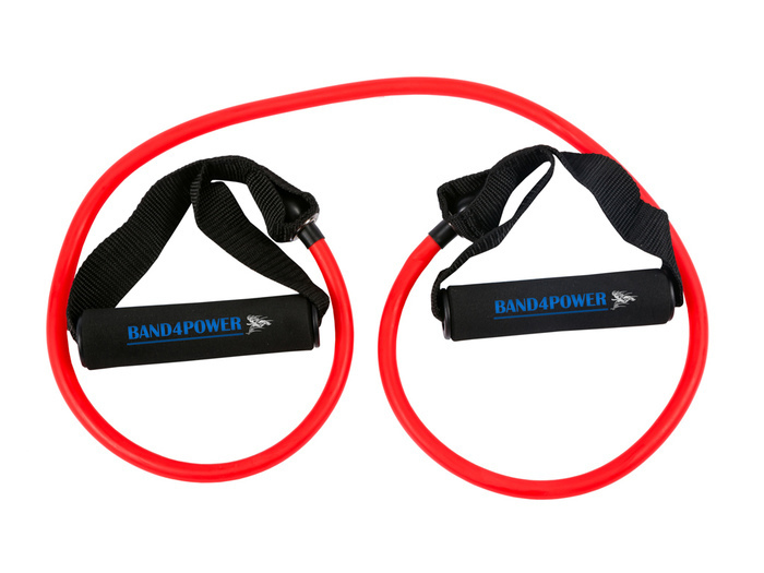 Трубчатый эспандер легкая нагрузка (красный) Band4Power