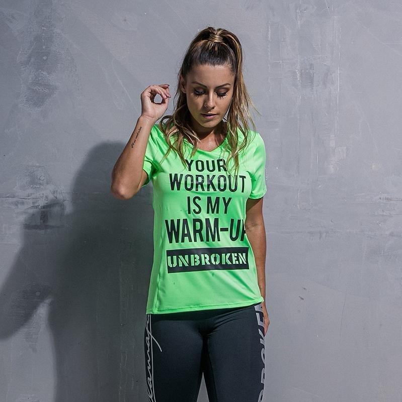 Спортивная футболка Labellamafia Workout Green