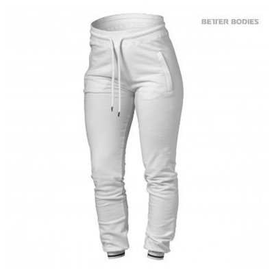 Брюки Better Bodies Madison Sweat Pants, White