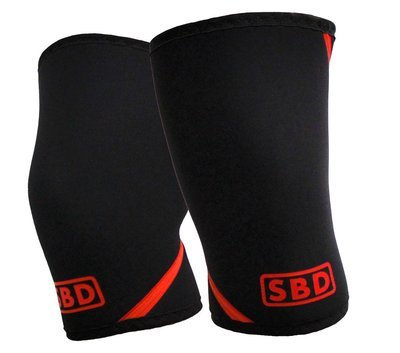 SBD наколенники для пауэрлифтинга, 7 мм