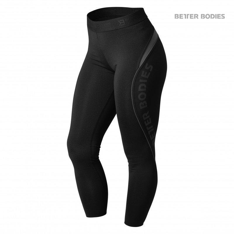 Спортивные лосины для фитнеса Better Bodies Fitness Curve Tights, Black