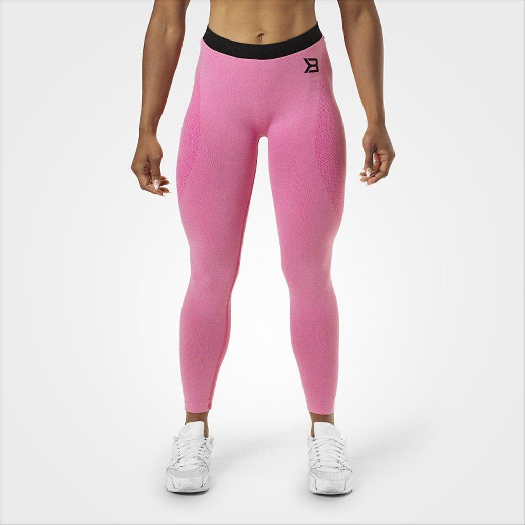 Спортивные леггинсы для фитнеса Better Bodies BF Curve Tights, Pink Melange